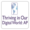 Thriving in Our Digital World: AP logo